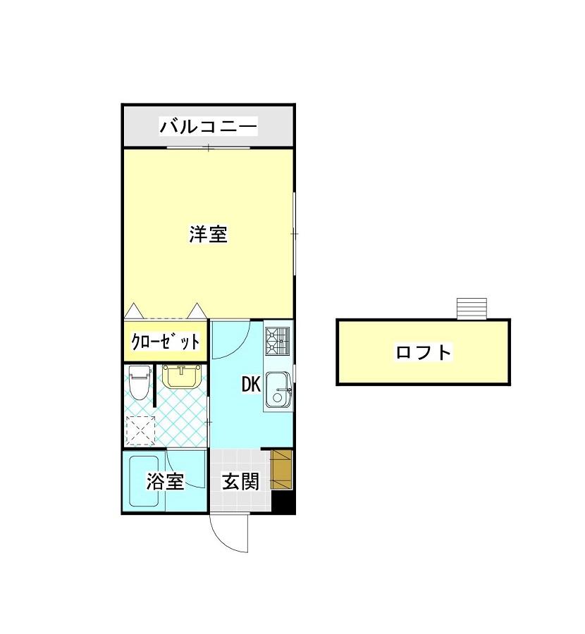 広~い洋室8帖