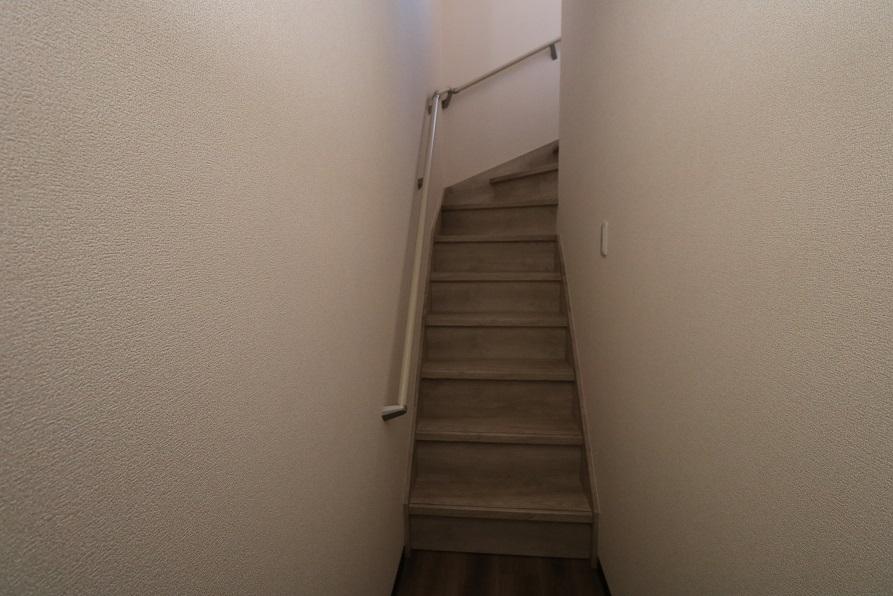 専用階段(手すり付)