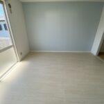 バルコニー側の和室が洋室になりました