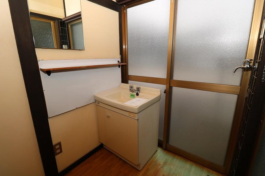 洗面所&洗濯機置き場