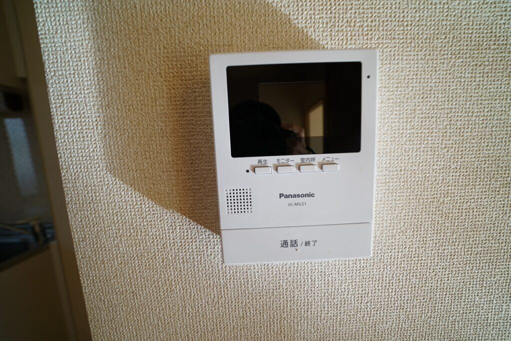 テレビモニターフォンで来客の確認ができます!