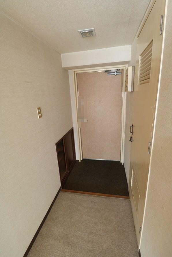玄関1とシューズボックス