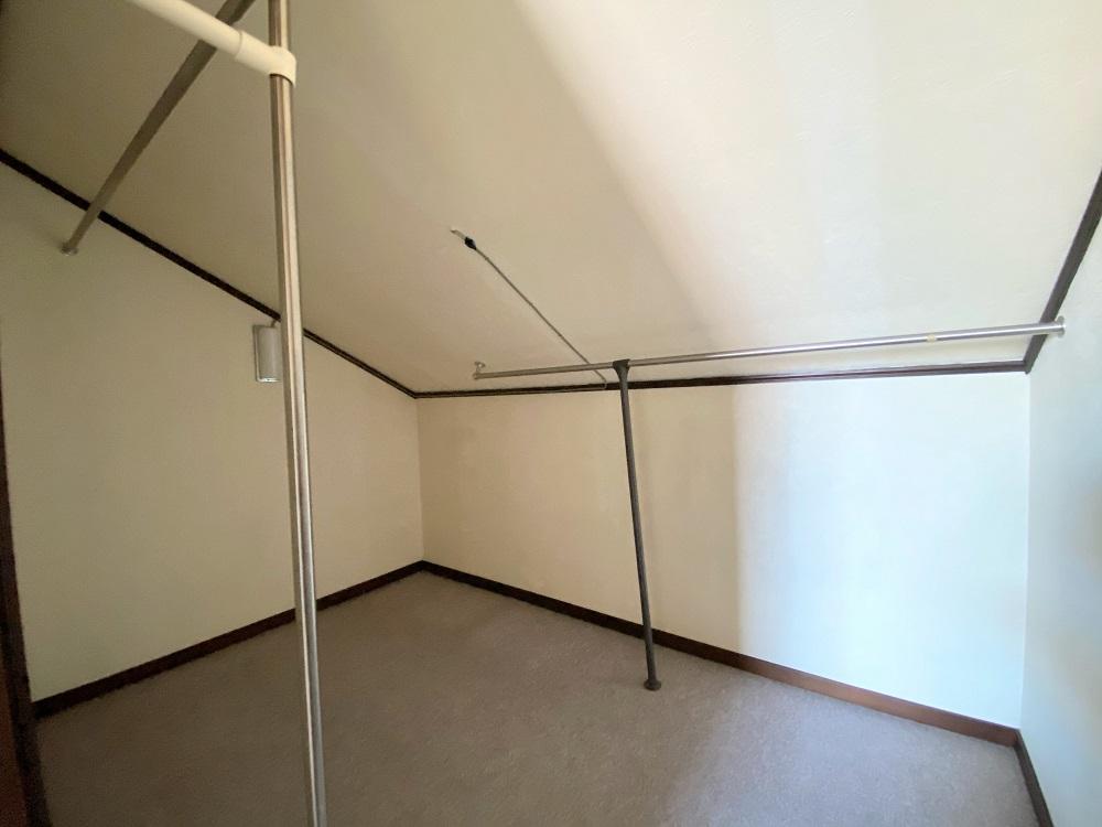 和室にある収納部屋