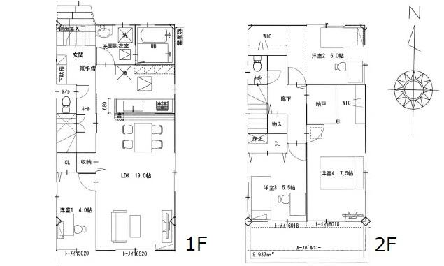 リナージュ廿日市市阿品台1丁目 新築戸建 【1号棟】