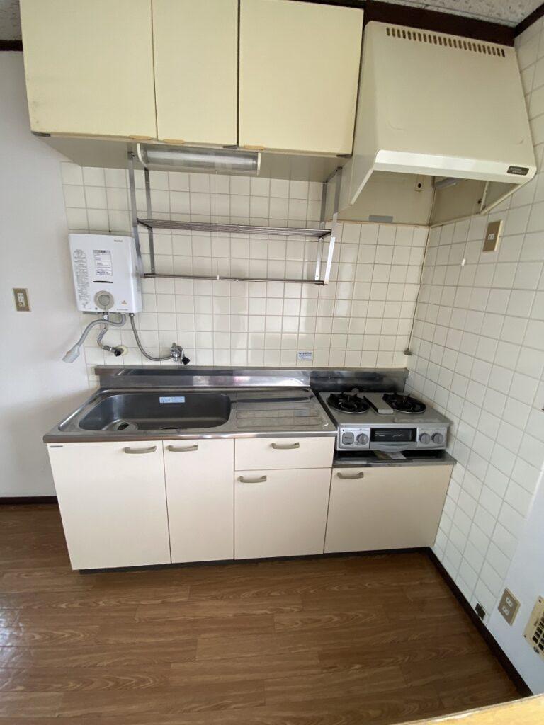キッチン(ガスコンロはサービス品)