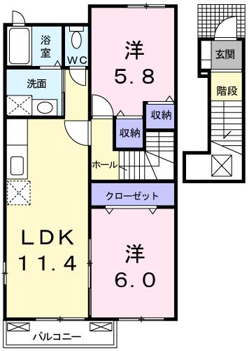 ガーデンハウスブルックⅠ番館 202