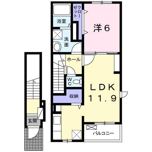プレストーラⅠ 202間取