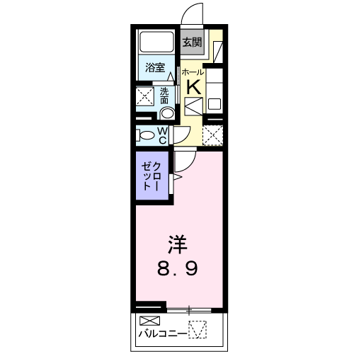 メゾン・ボヌールⅢ 102 間取