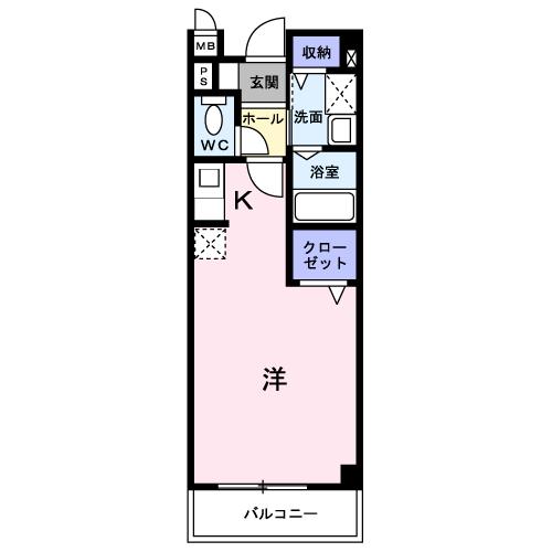 アヴニールS 203 間取